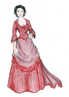 Miss Peabody in Crimson by ~oboe-wan on deviantART