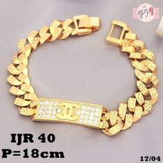 Gelang Xuping Rantai Sisik Naga Branded Lapis Emas Gold 18k JR40