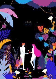 Eden on Behance