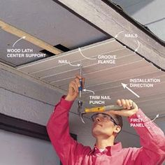How To Install Aluminum Soffits That Are Maintenance Free Roof Edge Home Maintenance Installation