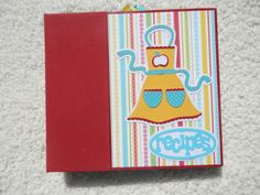 6x6 Recipe Book by SimplyMemories on Etsy