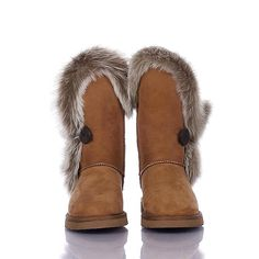 these are gorgeous! UGG Boots - Fox Fur - Chestnut - 5331