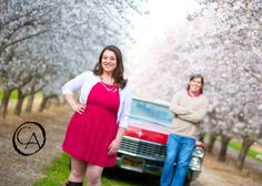 Spring Engagement Session in an Almond orchard at the Taber Ranch | by Christopher Armstrong Photography