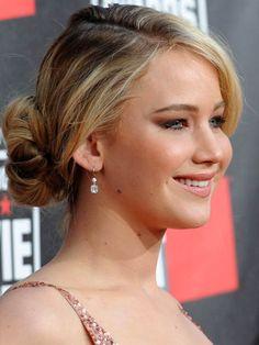 Smart Jennifer Lawrence Updos Hairstyles