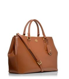 ROBINSON DOUBLE-ZIP TOTE - LUGGAGE - another necessity!