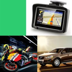 Motorcycle Car Gps   Inch Factory Direct Selling Ipx Waterproof Motorcycle Bluetooth Gps Navigation Car