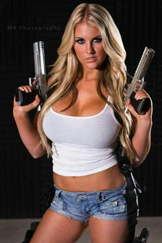 naked girls white weapons