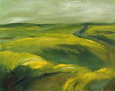 Ute Laum Kunst Abstraktes Landschaft: Sommer