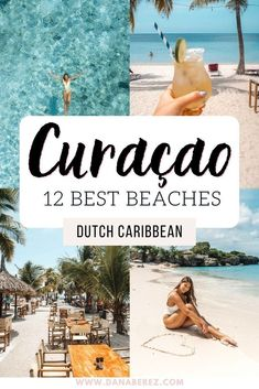 The best beaches in Curacao you can't miss! The Curacao Beaches are great for snorkel, diving, and are some of the best in the world. Here are the top beaches in Curacao. Where to travel, travel ideas, beach aesthetics Paris Travel Guide, Barcelona Travel Guide, Travel Guides, Beautiful Places To Travel, Best Places To Travel, Beach Trip, Vacation Trips, Travel Destinations Beach, Holiday Destinations