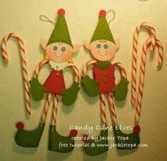 Candy cane elfs