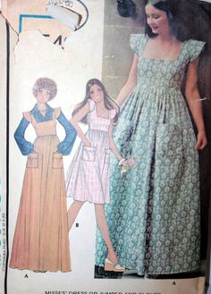 McCalls 4949 by MrsGoodwillHunting. Vintage Laura Ashley dress from 1975!