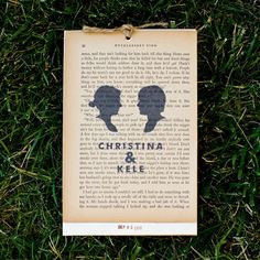 literary theme wedding Turn the pages from a classic childhood novel into a ceremony program. Library Wedding, Wedding Book, Friend Wedding, Our Wedding, Wedding Ceremony, Ceremony Programs, Wedding Programs, Wedding Themes, Book Theme Wedding Invitations