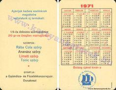 1971 - 1971_0436 - Régi magyar kártyanaptárak
