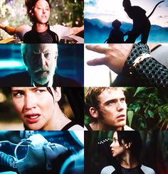 Catching fire!!  Oh, look, Finnick!   <3