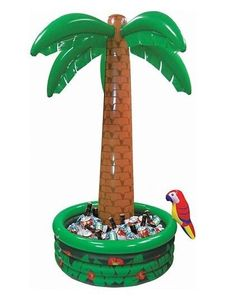 Create an oasis for your party drinks! This 6ft inflatable palm tree cooler and ice bucket is a fun decoration for any party whilst chilling your drinks.