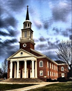 Hood College Historic District in Frederick County, Maryland. Hood College, Calling America, Frederick Maryland, Old Churches, Big Ben, Travel Photos, Graveyards, Building, Places