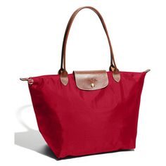Longchamp 'Le Pliage' Large Tote ($145) ❤ liked on Polyvore