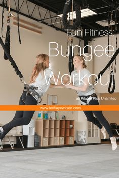 Pilates Plus Unlimited now offers the Bungee Workout outside Chicago. Bouncing around to a dance routine is a great way to distract yourself from the fact that you are getting in an intense workout. #bungeeworkout #funfitness #chicagofitness Workouts Outside, Fun Workouts, At Home Workouts, Home Exercise Routines, Dance Routines, Bungee Workout, Pilates Plus, Goodbye Baby, Fitness Fun