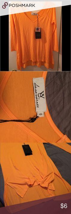 Shirt orange L Never worn. Nwt. L Tops