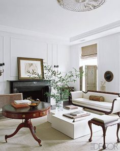 Home Decorating Ideas: Darryl Carter's D.C. Townhouse - ELLE DECOR