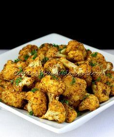 Baked Spiced Cauliflower