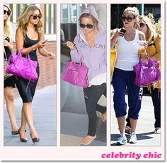 lovebbags.com: Carmen Electra with Amethyst Covered Work