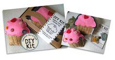Catnip toys CupcakeDIYKit