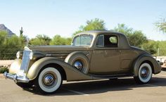 Packard Twelve 2/4-Passenger Coupe 1937