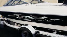 CHECKER FLAG BOAT/TRUCK/CAR DECAL KIT - 4ft