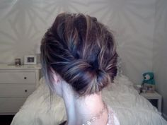 So quick, so easy hairstyle