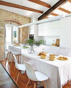 Ideas para reutilizar muebles de una lectora ideas para for O kitchen mira mesa