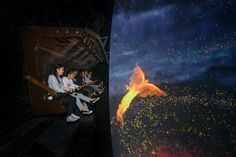 Flying Theater attraction at the Tongguan Kiln International Cultural and Tourism Center in Changsha, CN.