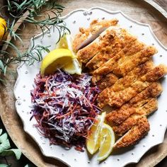 The Best Gluten-Free Chicken Schnitzel is made with seasoned almond flour and is a 10 minute wonder meal. Chicken And Leek Pie, Chicken Recipes, Gluten Free Recipes For Dinner, Dinner Recipes, Schnitzel Recipes, Homemade Coleslaw, Almond Recipes, Keto Recipes
