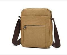 2015 Fashion Vintage Men Solid Color Messenger Bags Casual Outdoor Travel Canvas Crossbody Bag Male Quality Handbags