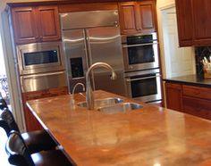 Surprise Contender: Copper for Kitchen Countertops