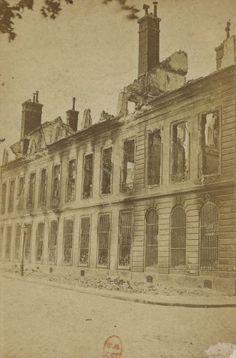 Arsenal de Paris - 1871-1873, photographe Eugène Appert