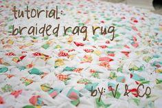 Braided Rag Rug | NaturesLittleWays
