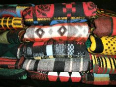 Vintage blankets from our collection May 2016
