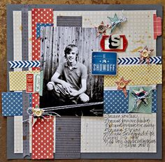 A Project by Leslie Ashe from our Scrapbooking Gallery originally submitted 11/22/11 at 02:07 PM