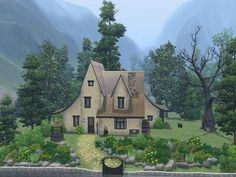 moonginy's Hidden Cottage of the Happy Witch on TSR (free)