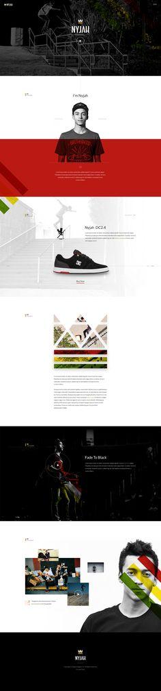 #nyjah #houston #dc #shoes #webdesign #inspiration