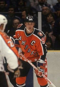 Wayne Gretzky   NHL   Hockey Hockey Teams, Hockey Stuff, Nhl All Star Game, Phil Jackson, Hockey World, Wayne Gretzky, Edmonton Oilers, Vancouver Canucks, Hockey Cards