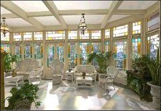 The conservatory from the Charmed manor. I want a conservatory...