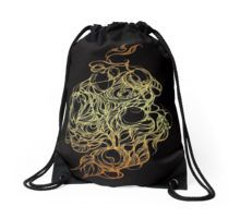 Drawstring Bag Made from 100% Polyester woven fabric. Wide, soft drawcord. Durable, quality metal grommets. Long-lasting double-sided printed design.This unique painting is delicately hand drawn using the ink pen and watercolor on the reach watercolor art paper #bag #drawstring  #drawstringbag #drawstringknapsack  #backpacks #bag #redbubble #mandala #design  #handdrawing #meditationart #pattern  #girl #girly #woman #school #kids #children #babyshower
