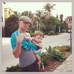 These two definitely rock. #babywearing #sakurabloom via amariegross on instagram