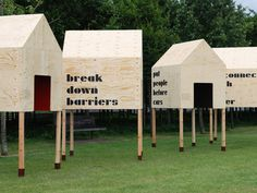 open city in the park / design for london   by Studio Myerscough