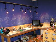 Robot office/study.