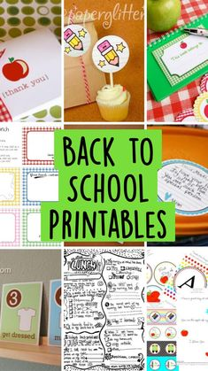 Back To School Crafts, Lunch Box Notes, Tot School, Teacher Appreciation Gifts, Teaching Tools, Toddler Activities, Free Printables, Learning, Passive Income