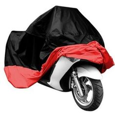 Oxford Heavy Duty Heatproof Motorcycle Accessories Shed Anti Dust Rain Sun Shades UV Motorcycle Shelter Indoor with Lock-holes Storage Bag 190T Waterproof Motorbike Cover,Motorcycle Motorhome /& Trailer Covers for Outside Storage Black, XXL 245*105*125 C
