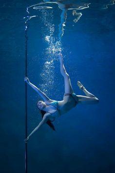 Underwater pole